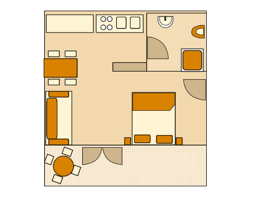 Apartment - A4 Ground-plan